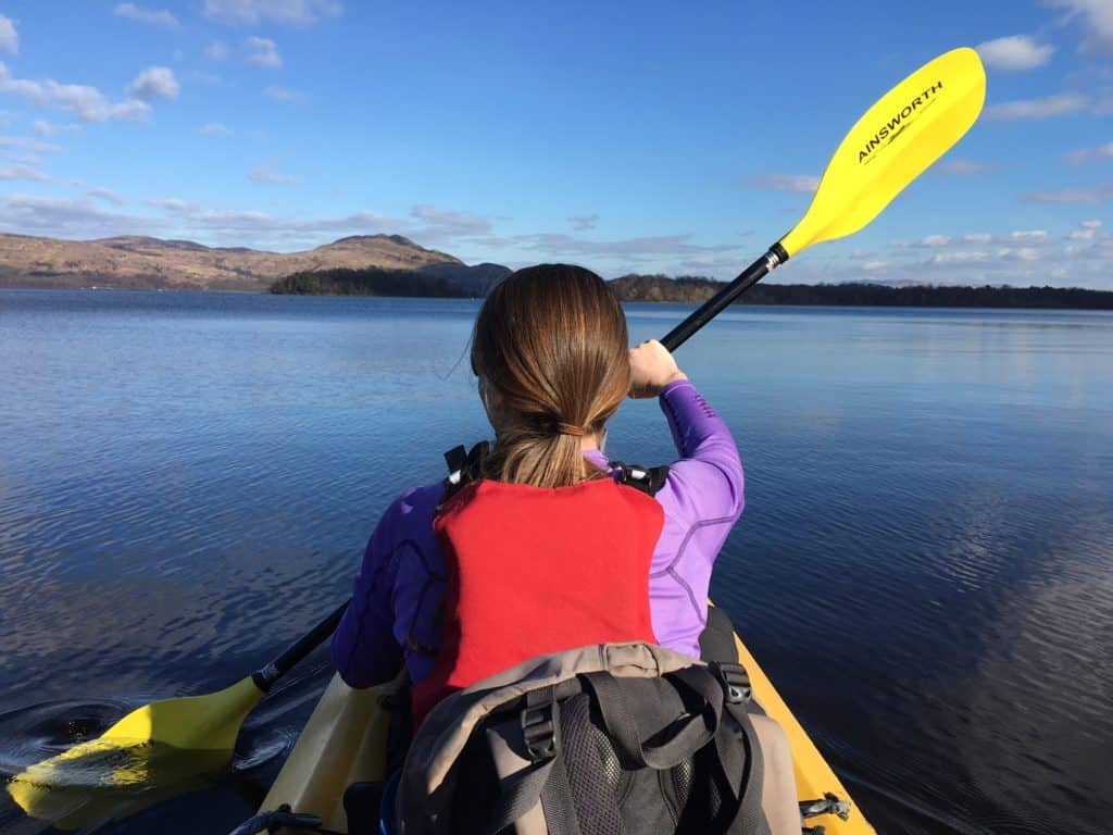The best way to explore Loch Lomond is on the water!